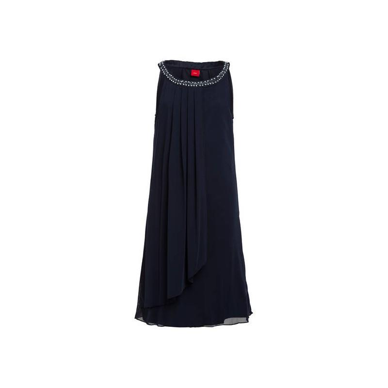 S Oliver Madchen Kleid Blau Festtagskinder De Farbe Blau Grosse 140 Anlass Hochzeitsmode