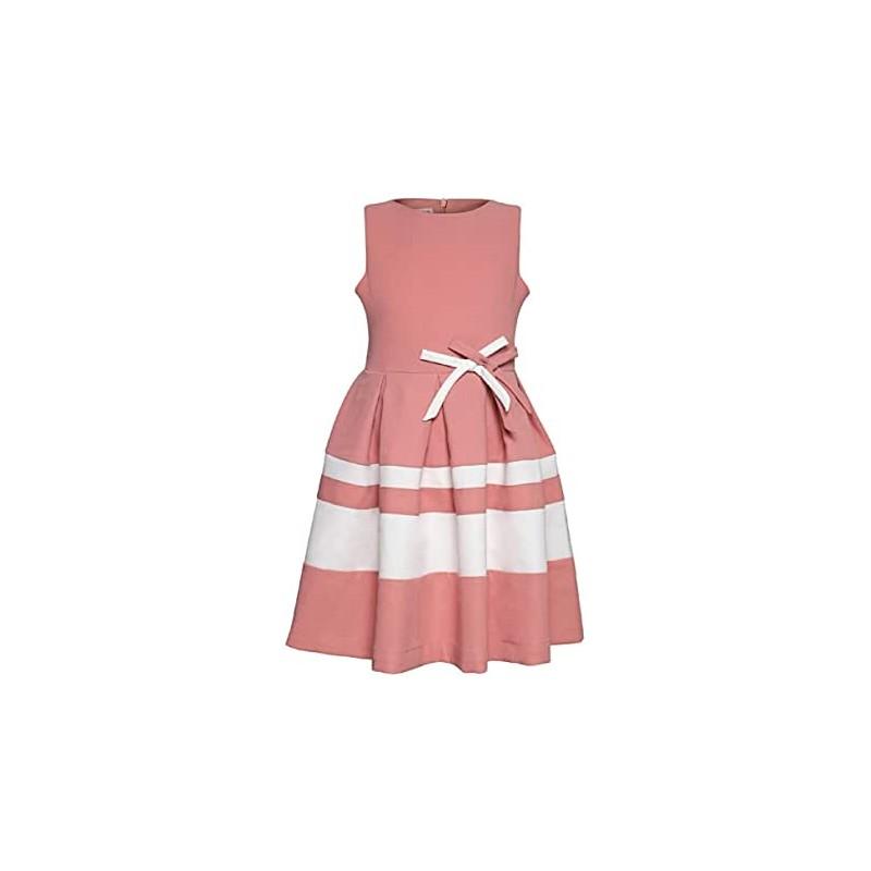 La V Festliches Kleid Schleifen Rosa Festtagskinder De Grosse 92 Farbe Rosa Anlass Geburtstag